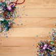 New Year's: Fun New Year's Eve Background — Stock Photo