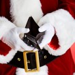 Santa: Showing Empty Wallet — Foto Stock