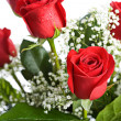 Valentine: Arrangement Of Red Roses — Stok Fotoğraf #38028339