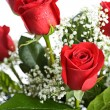 Valentine: Arrangement Of Red Roses — стоковое фото #38028339