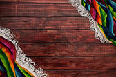 Background: Copyspace Surrounded with Serape — Stok fotoğraf
