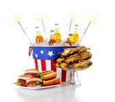 Summer: Festive Holiday Summer Food — Stock Photo