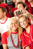 Fans: Focus on Digital Camera — Foto de Stock