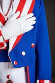 Patriotic: Saying The Pledge Of Allegiance — Stock Photo