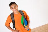 Student: Boy Ready for School — Foto de Stock