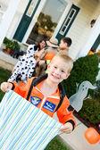 Halloween: Boy Astronaut Ready for Halloween — Zdjęcie stockowe
