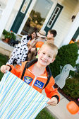 Halloween: Boy Astronaut Ready for Halloween — Foto de Stock