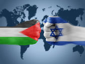 Palestine x israel — Stock Photo