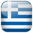 Greece flag button — Stock Photo #24373581
