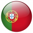 Portugal flag button — Stock Photo #24377237