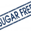 Stock Photo: Sugar free stamp