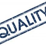 Quality stamp — Stock Photo #24389641