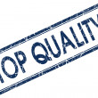 Top quality stamp — Stock Photo