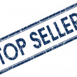 Stock Photo: Top seller stamp