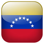 Venezuela knop markeren — Stockfoto