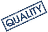 Quality stamp — Stock Photo