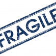 Royalty-Free Stock Photo: Fragile stamp