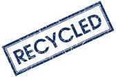 Timbre recyclé — Photo