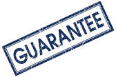 Guarantee stamp — Stock Photo