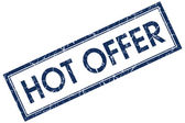 Hot offer stamp — Stock Photo