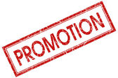 Promotion stamp — Stock Photo