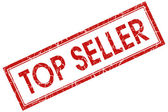 Top seller stamp — Stock Photo