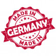 Stock Photo: Made in germany stamp