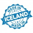 Made in iceland stamp — Stock Photo #24573505