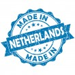 Made in netherlands stamp — Stock Photo #24573629