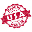 Made in usstamp — Stock Photo #24573769