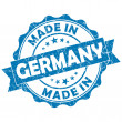 Made in germany stamp — Stock Photo