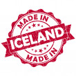 Made in iceland stamp — Stock Photo #24574183