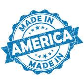 Feita no selo de américa — Foto Stock