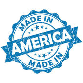 Made in america stamp — Stock Photo