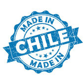 Made in chile stamp — Stock Photo