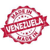 Made in venezuela stamp — Stock Photo