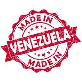 Made in venezuela stamp — Stock Photo