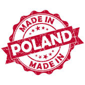 Made in poland stamp — Zdjęcie stockowe
