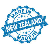 Made in new zealand stamp — Stock Photo
