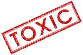 Toxic stamp — Stock Photo