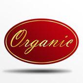 Ekologisk etikett — Stockfoto
