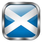 Scotland flag button — Stock Photo