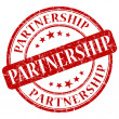Stock Photo: Partnership stamp