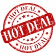 Stock Photo: Hot deal stamp