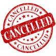 Royalty-Free Stock Photo: Cancelled stamp