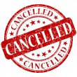 Stock Photo: Cancelled stamp