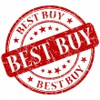 Best buy stamp — Stock Photo #25849947