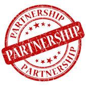 Partnership stamp — Stock Photo