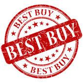 Best buy stamp — Stock Photo
