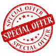 Photo: Special offer stamp
